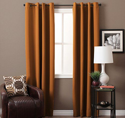 Turquoize® Single Solid Panel Blackout Drape, Themal