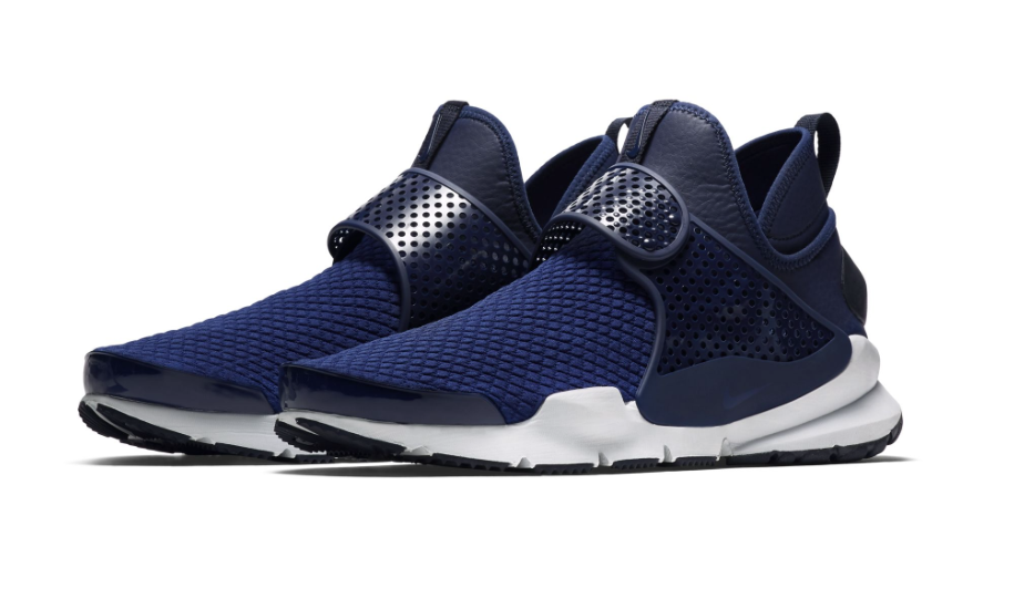 Official Look At The Nike Sock Dart Mid Navy | Fashion