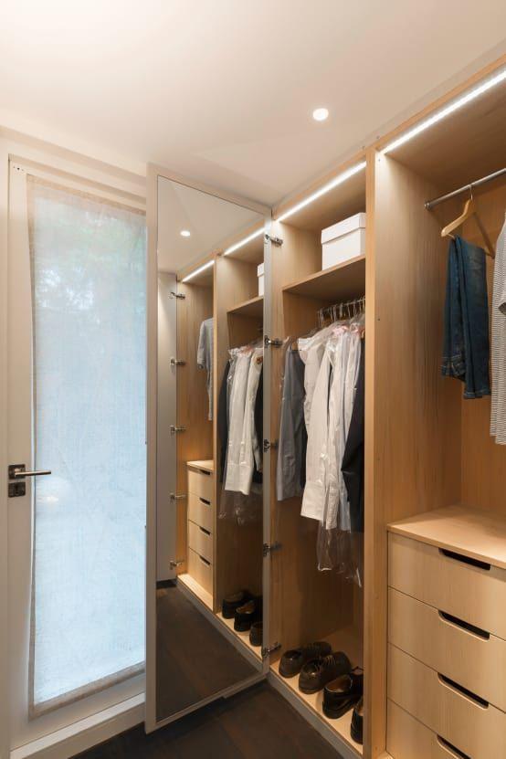 9 Desain Lemari Pakaian Untuk Kamar Sempit | Lemari ...