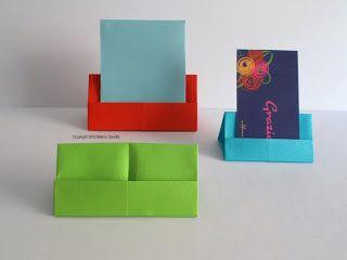 segnaposti origami vari
