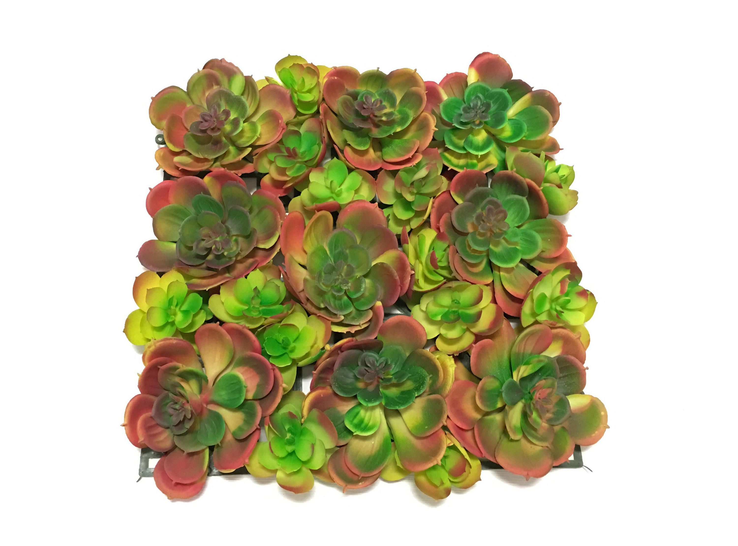 Large artificial succulent mat artificial flowers flower crown large artificial succulent mat artificial flowers flower crown terrarium fairy garden millinery hair accessory flower arrangement mightylinksfo Gallery