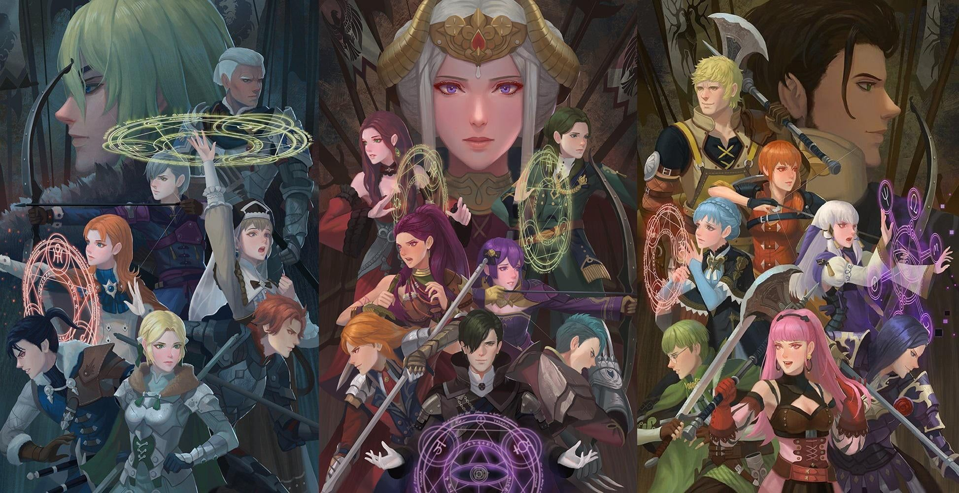 Fire Emblem Fire Emblem Three Houses Video Game Characters Video