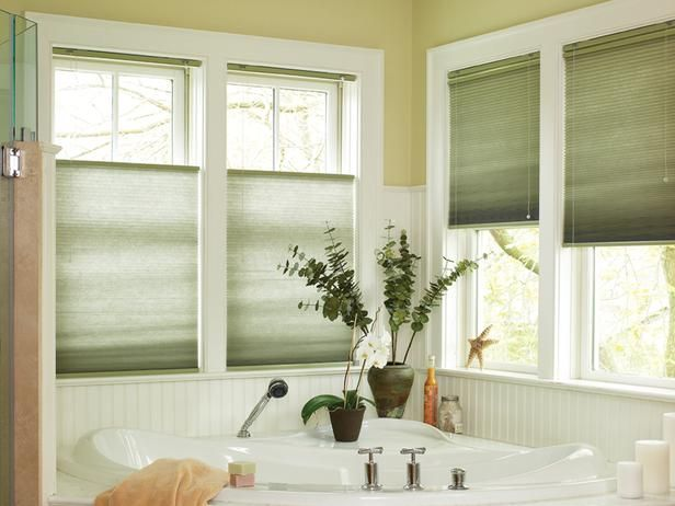 Control Light And Privacy With Cellular Shades The Top Down Bottom Up Feature On Allows For Natural From