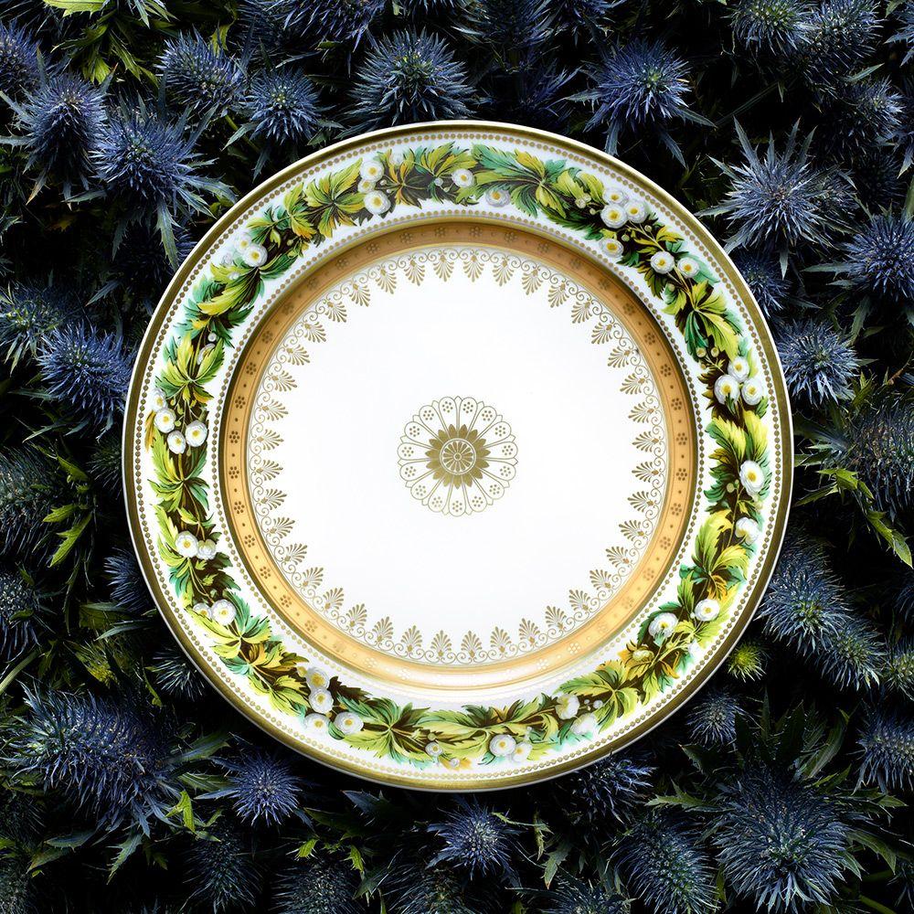 Bernardaud Botanique Salad Plate Buttercup 8 5 Bernardaud Plates Gold Paint