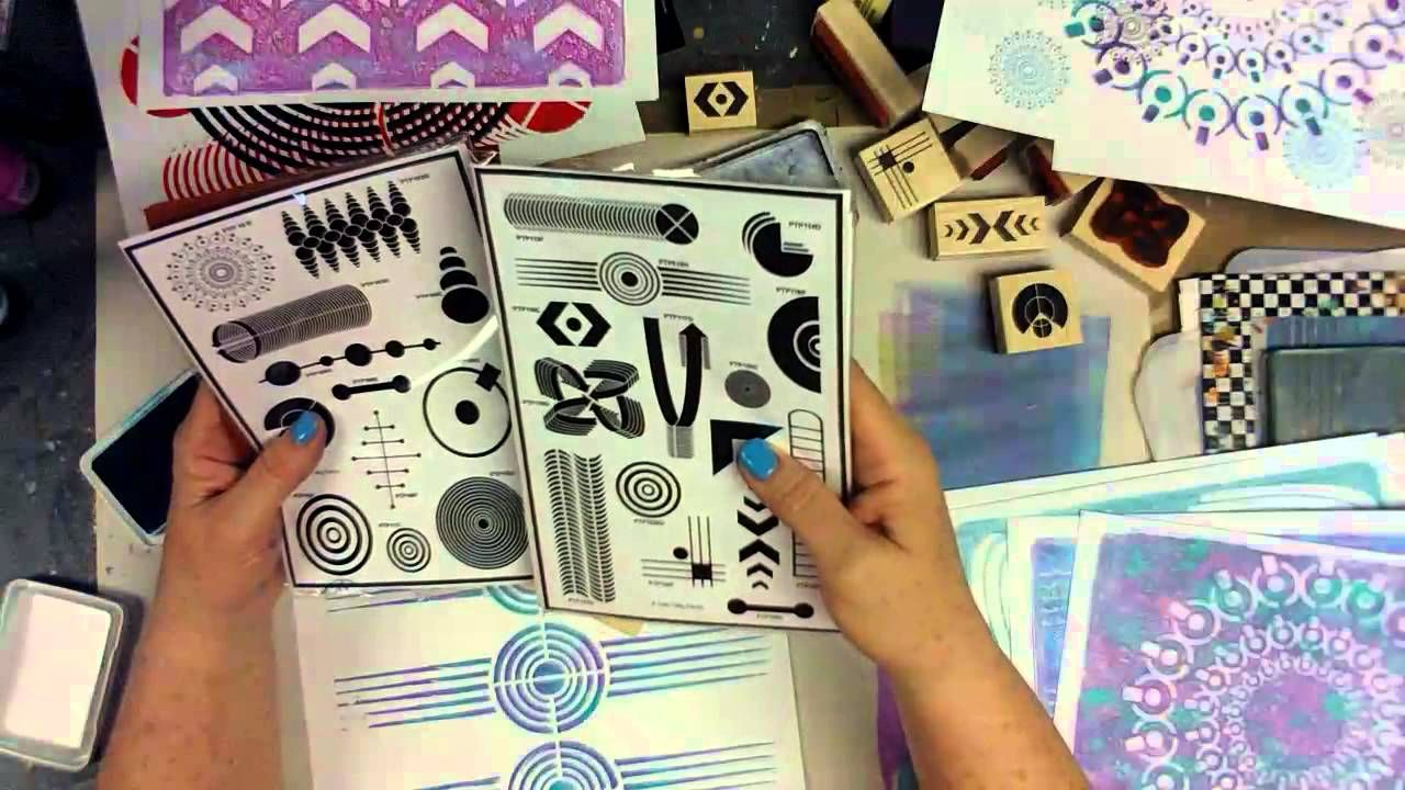 Introducing PTP Elements -- Red Rubber Stamp Sheets - Part 1 Check out Patty and her new designs produced by RubberMoon Stamp Company!!!