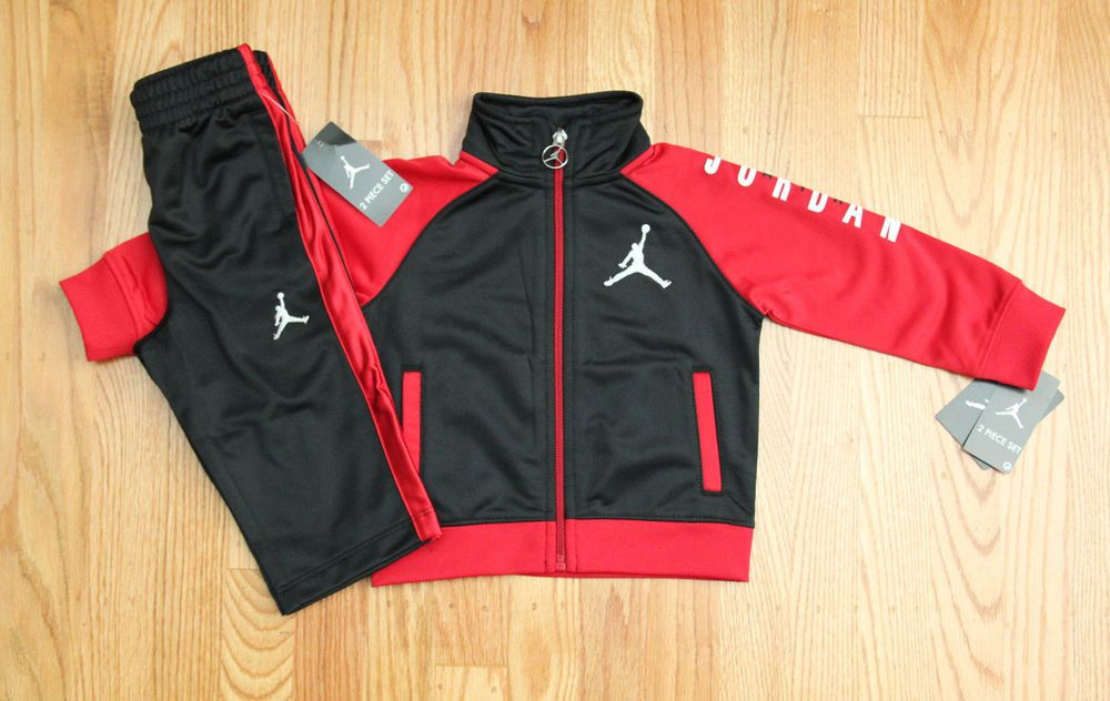 ae1dfc8d36d5ff Air Jordan Baby Boy Jogging Set~Tracksuit ~Black