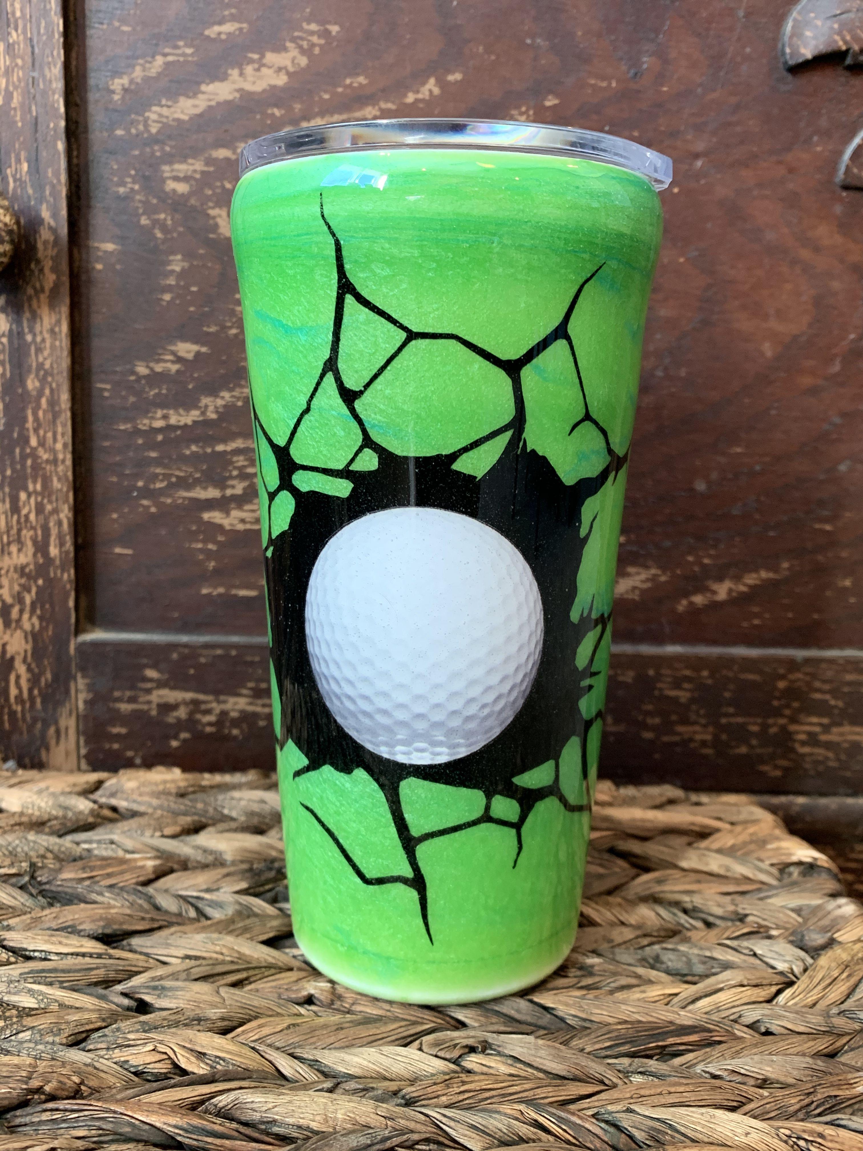 20oz custom golf tumbler in 2020 custom tumblers custom