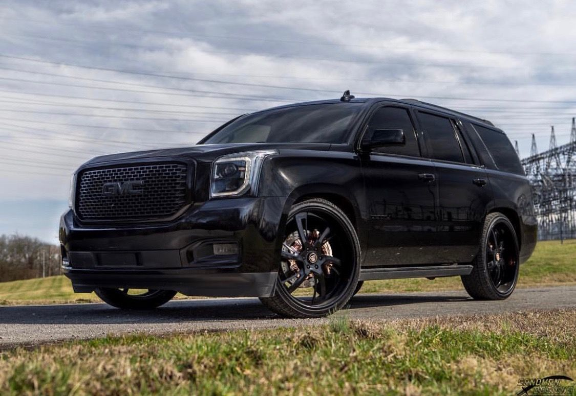 Yukon Denali All Black Everything Rose Gold Brakes Denali Truck