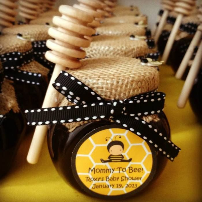 Mommy To Bee DIY Honey For A Baby Shower Gift