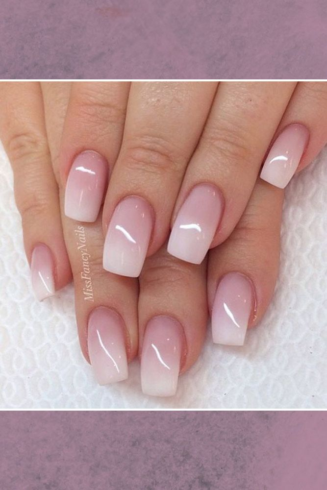 Ideas for Ombre Nails That Will Glam Your Look ☆ See more:  http://glaminati.com/ombre-nails-designs/ - 36 Glam Ideas For Ombre Nails Plus Tutorial Ombre, 21st And Nail Nail