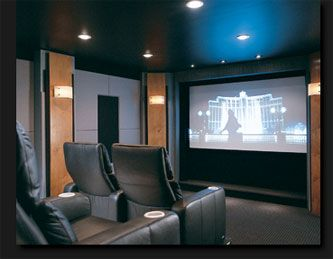 small room conversion to home theater | Smaller Home Theater Room ...