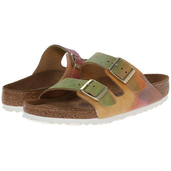 4c0ec6c280f2 Birkenstock Arizona Soft Footbed - Leather Sandals ( 140) ❤ liked on  Polyvore
