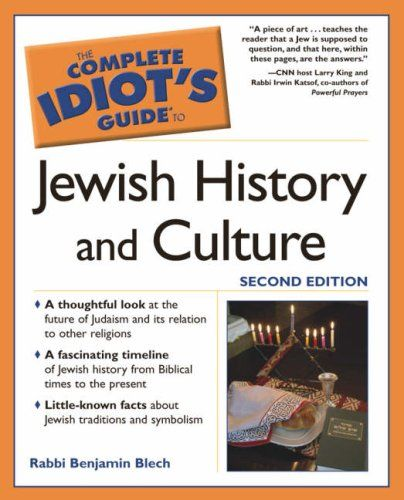 The Complete Idiot's Guide to Jewish History and Culture, 2nd Edition by Benjamin Blech http://www.amazon.com/dp/1592572405/ref=cm_sw_r_pi_dp_Pzzkvb1PGC1VW