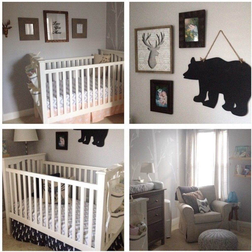 Neutral Woodland Twin Nursery | Twin nurseries, Project nursery ...
