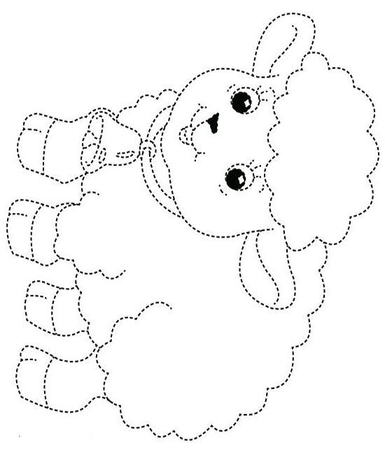 Раскраски - обводилки для детей 6-7 лет   Нитяная графика