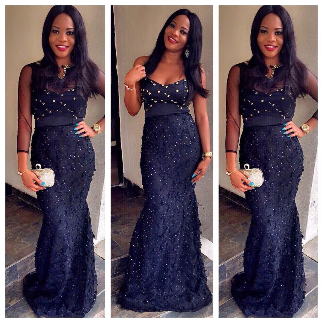 Nigerian fashion styles for women - Top Ten Beautiful Aso Ebi Styles For Ladies Dabonke
