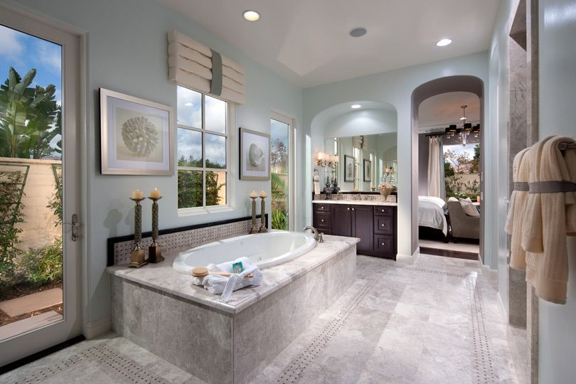 san diego bathroom design. Toll Brothers Spyglass Monterey  Emerald Cove at The Crosby San Diego California PeachTree Spanish Colonial Arrowood