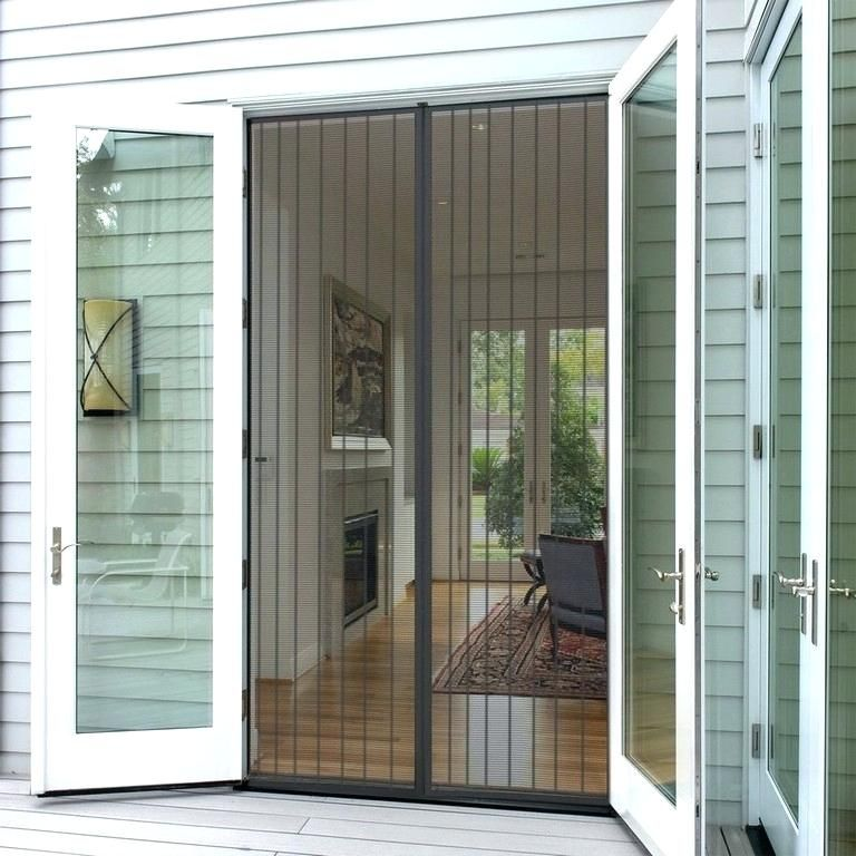 Fantastic Magnetic Screens For French Doors Ideas Lovely Magnetic