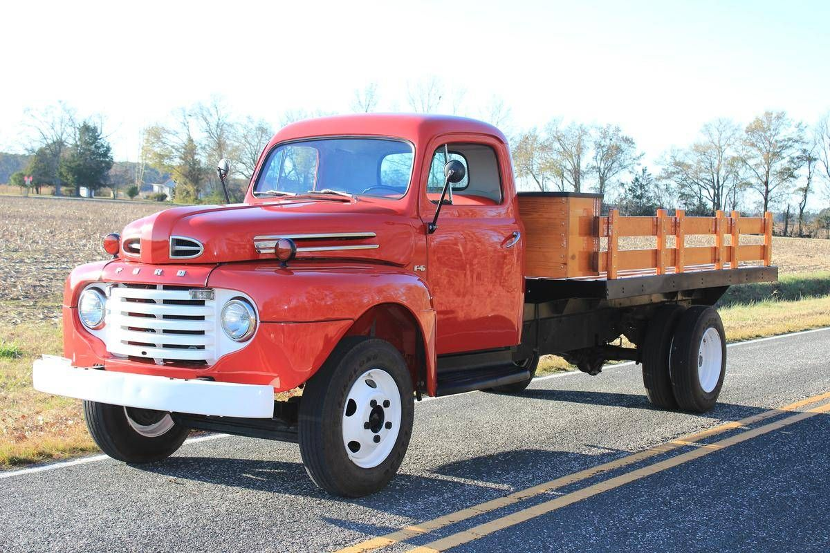 1949 Ford F6 With Images 1952 Ford Truck Trucks Old Ford