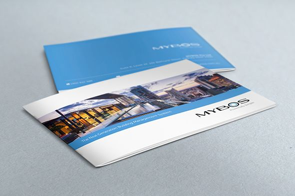 clean brochure design Brochure Awesome Pinterest Brochures and