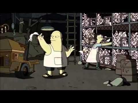 Banksy @ Simpsons HD - YouTube