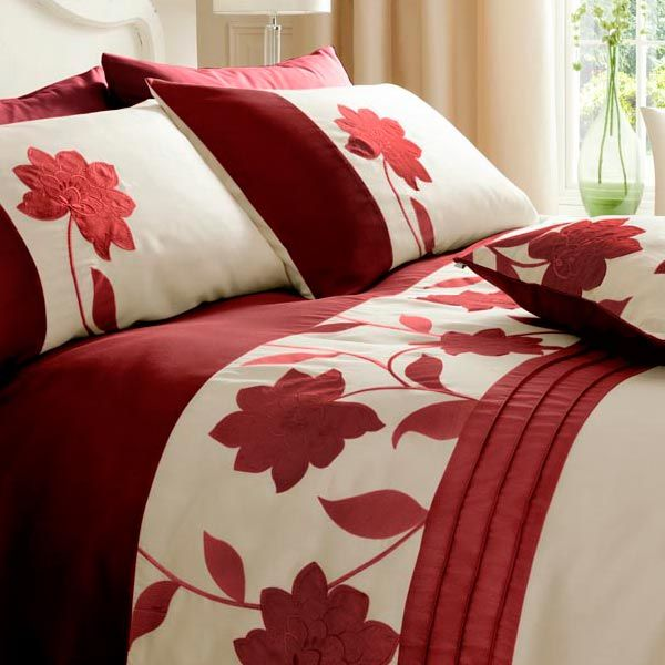 careful be duvet red lustwithalaugh it and cream design apply cover to