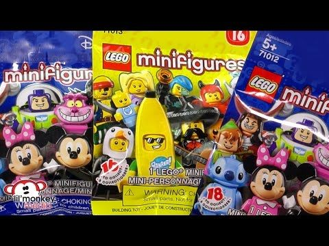 Lego Minifigure Blind Bags Massive Collection Disney Series 16