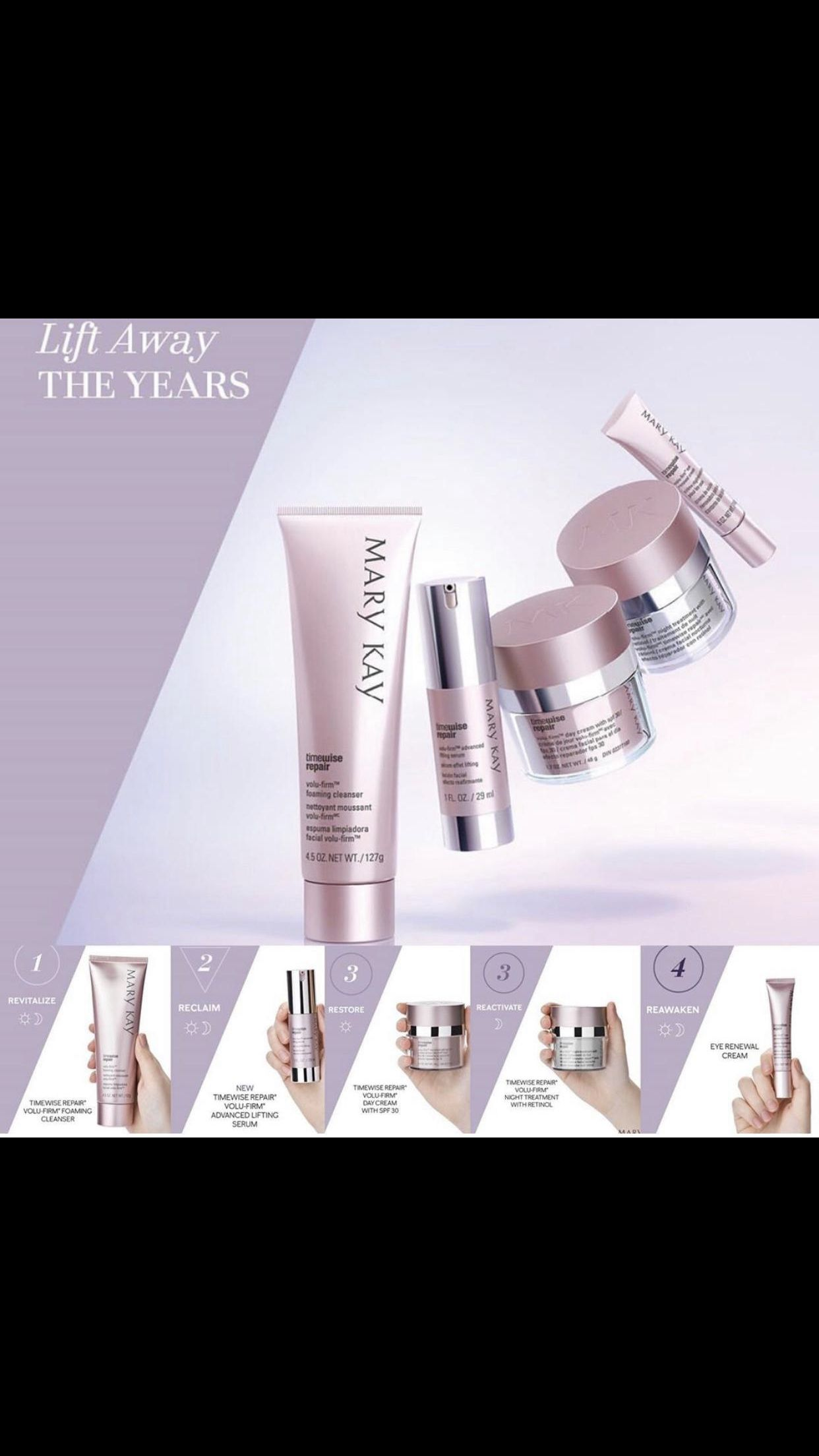 Marykay timewise volufirm in 2020 Mary kay skin care