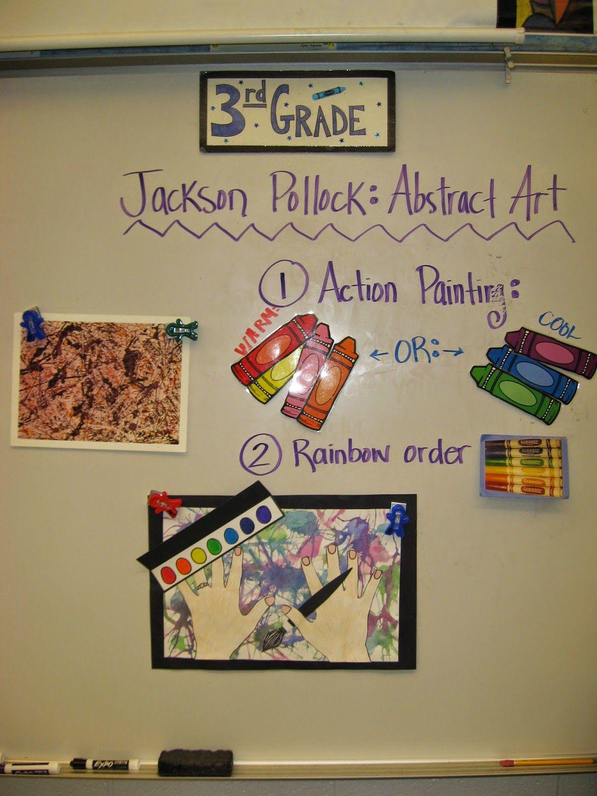 Jamestown Elementary Art Blog 3rd Grade Action Jackson