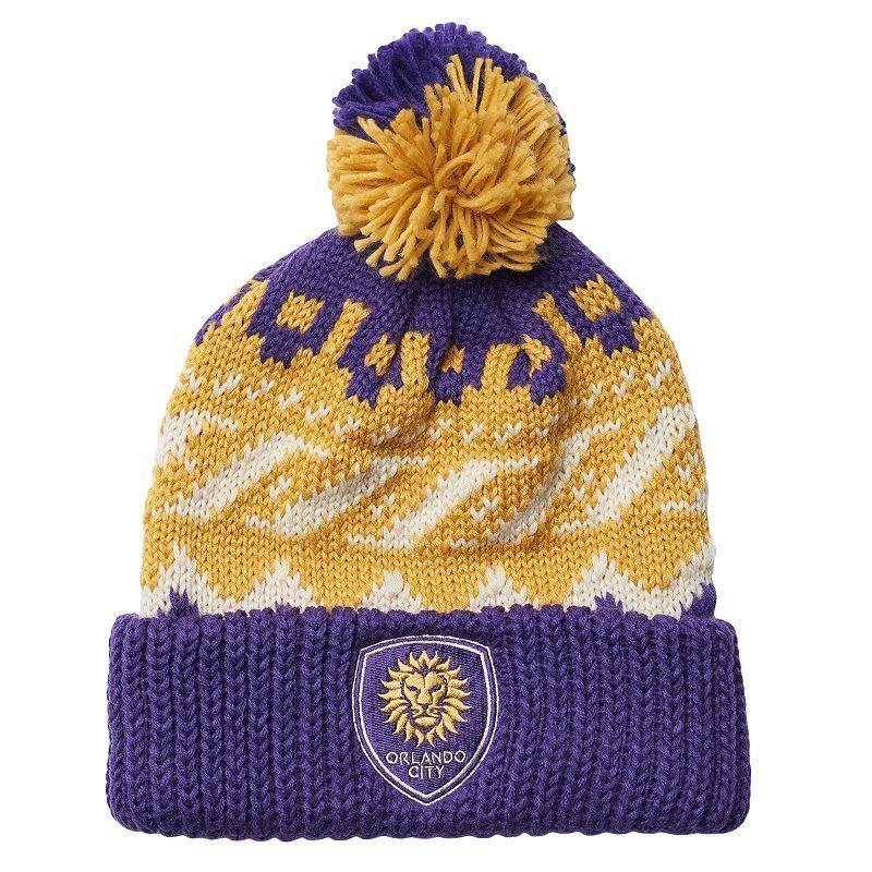 1bff0c81e2d4 ... cuffed beanie hat cap with poof 8417f 88342; shopping adidas mens orlando  city sc knit beanie 383b6 0cf2b