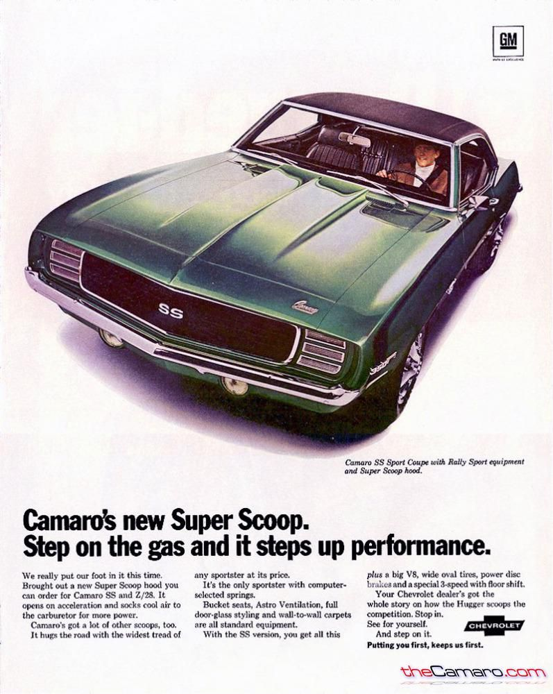 1968 Chevrolet CAMARO license plate car tag 67 Chevy Hugger