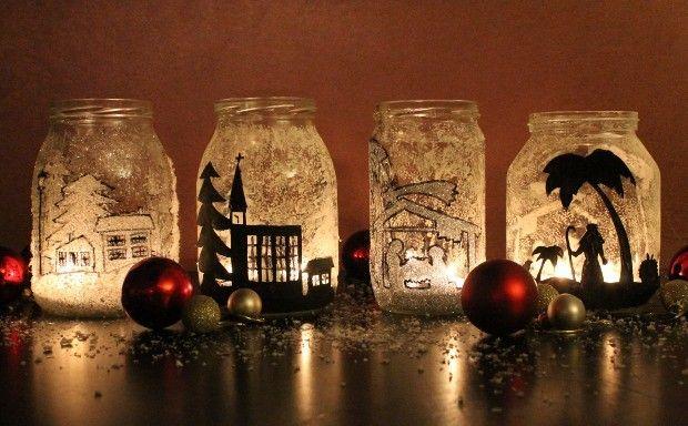 Decorazioni Fai Da Te Natale : Christmas candles roseinthewind hobby tempo libero