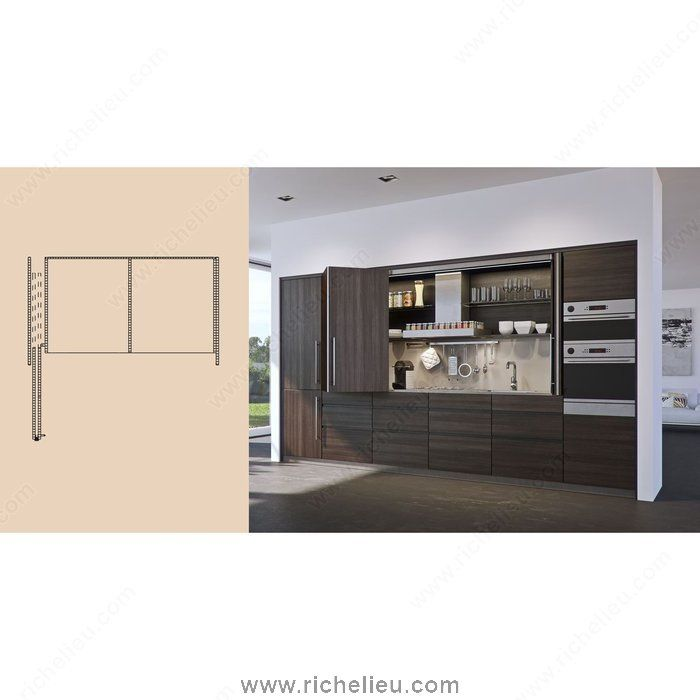 System for Lateral Bi-Fold/Pocket Doors. HAWA-Folding Concepta 25 ...