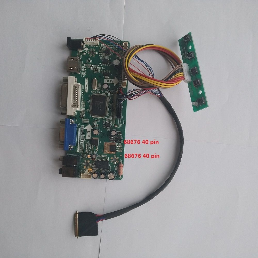 Kit for HSD100IFW1-A04 TV+HDMI+VGA+USB LCD LED screen Controller Driver Board