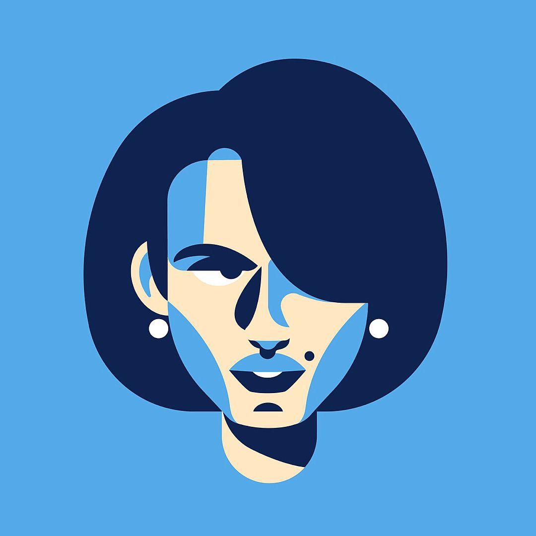 Mr & Mrs ️ #illustration #vector #vectorart #minimal
