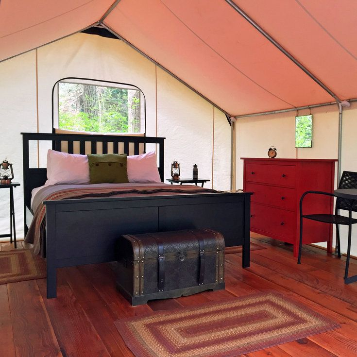 LEANTO, Orcas Island, WA - Top Luxury Tent & Yurt Camping Sites - Sunset