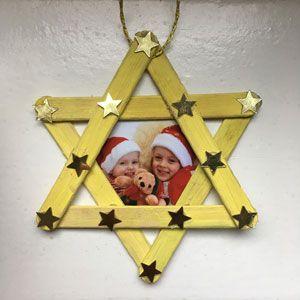Weihnachtsschmuck mit Kindern basteln #weihnachtsgeschenkebasteln