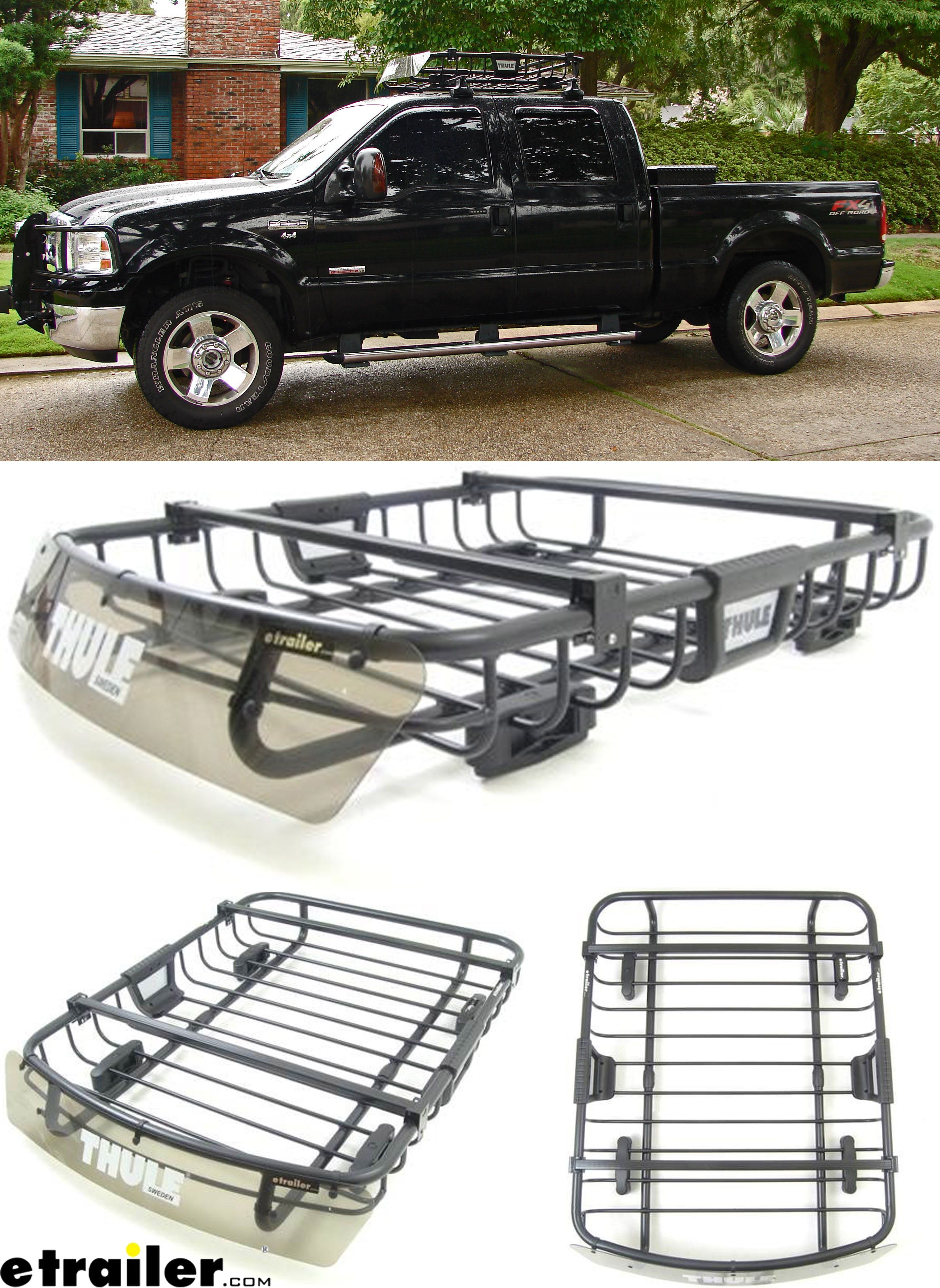 A Great Gift Idea For Dad Mom Or Those Who Love The Outdoors And Also Love Traveling Efficiently Put This Thule Roo Cargo Carrier Truck Accesories Cargo Rack