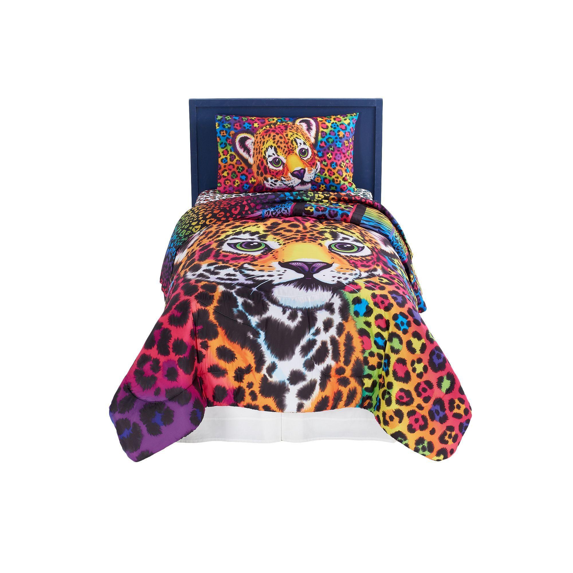 5139ce8d4b8 Lisa Frank Wild Side 4-Piece Bed Set