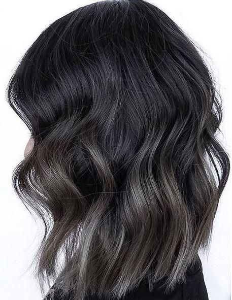 I really love this dark ash and the subtle ombré,