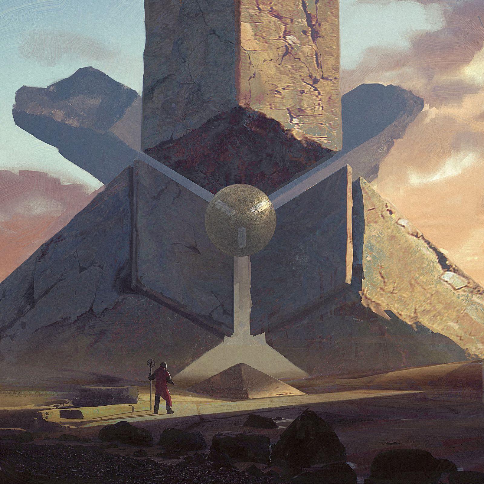 Beacon of knowledge , Darius Kalinauskas on ArtStation at https://www.artstation.com/artwork/Gz04Q
