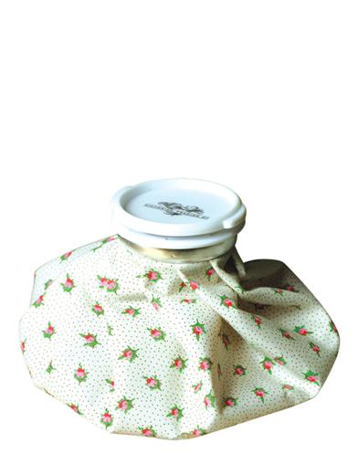 Rosebud Chintz Ice Pack Old Fashioned Ice Bag Rose Buds Ice Bag Floral Ice
