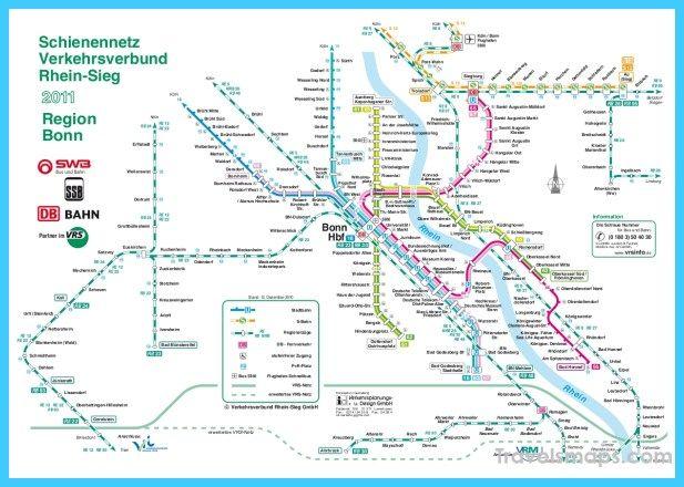 awesome Map of CologneBonn Travelsmaps Pinterest Bonn