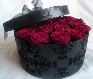 25534261d Grand Prix roses in a hat box | kvetinové dekorácie | Pinterest ...