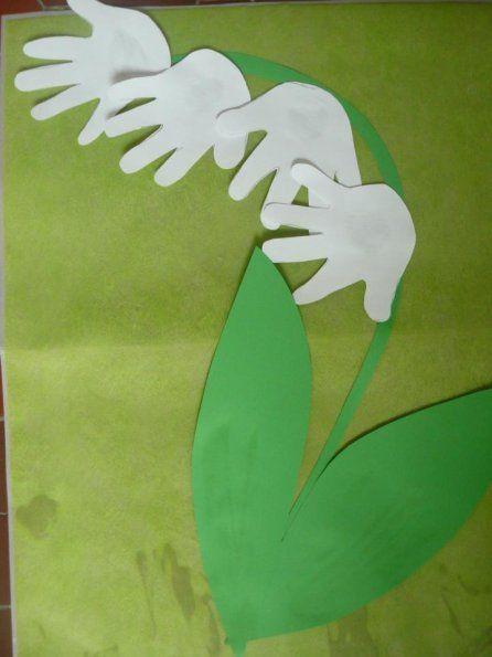 Bricolage Activite 1er Mai Muguet 6 Papír Pinterest Craft
