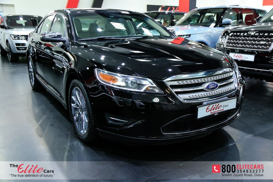 Ford Taurus 2012 For Sale In Dubai Aed 62 000 Black Sold Car