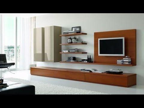 IDEAS PARA MUEBLES DE TV - YouTube | Home decor | Pinterest | Youtube