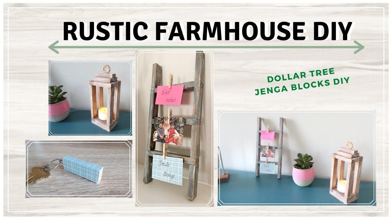 Diy Rustic Farmhouse Decor Dollar Tree Diy Blondienextdoor Youtube Dollar Tree Diy Rustic Farmhouse Decor Rustic Diy