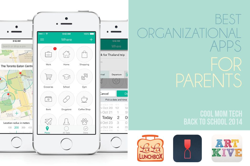 10 of the best organizational apps for parents Back to