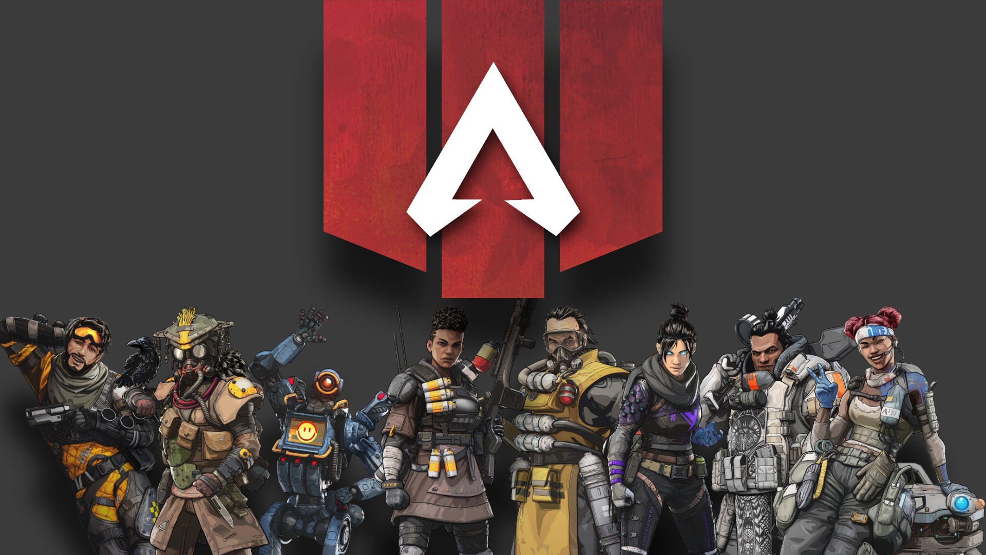 Video Game Apex Legends Pathfinder Apex Legends Wraith Apex Legends Mirage Apex Legends L Mobile Legend Wallpaper Background Images Wallpaper Backgrounds